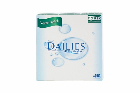 Focus Dailies All Day Comfort Toric (90 db), napi kontaktlencse