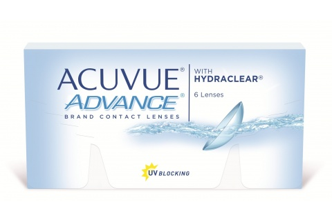 Acuvue Advance With Hydraclear (6 db), 2 heti kontaktlencse