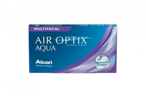 Air Optix Aqua Multifocal (6 db), havi kontaktlencse