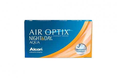 Air Optix Night & Day Aqua (3 db), havi kontaktlencse