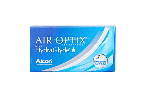 Air Optix Plus HydraGlyde (3 db), havi kontaktlencse