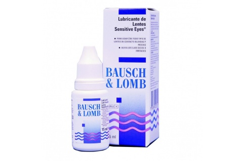 Bausch & Lomb szemcsepp (15 ml) - Sensitive Eyes