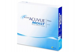 1 Day Acuvue Moist (90 db), 8.5, +3.50