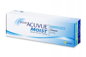 1 Day Acuvue Moist For Astigmatism (30 db), 8.5, +3.00, -1.25, 180°
