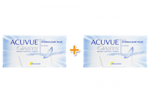 2 doboz Acuvue Oasys With Hydraclear Plus (6 db), 1-2 heti kontaktlencse