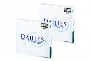 2× Focus Dailies All Day Comfort Toric (90 db)