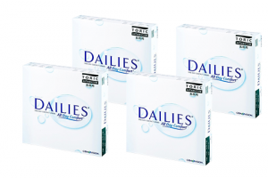 4× Focus Dailies All Day Comfort Toric (90 db)