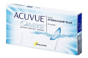 Acuvue Oasys With Hydraclear Plus (6 db), 1-2 heti kontaktlencse