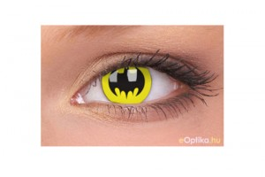 ColourVUE Crazy Batman (2 db) , fedő, 3 havi kontaktlencse