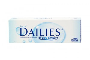 Focus Dailies All Day Comfort (30 db), napi kontaktlencse