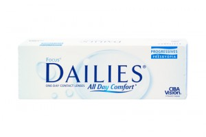 Focus Dailies All Day Comfort Progressives (30 db), napi kontaktlencse