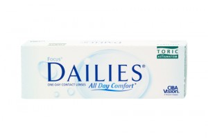 Focus Dailies All Day Comfort Toric (30 db), napi kontaktlencse