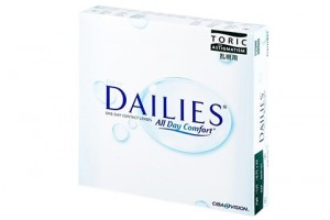 ocus Dailies All Day Comfort Toric (90 db), napi kontaktlencse