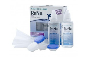 Renu MPS Sensitive Eyes Flight Pack (2x60 ml), kontaktlencse folyadék tokkal