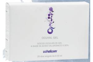 Ocuyal Gel (20x0.33 ml), szemcsepp