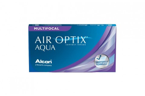 Air Optix Aqua Multifocal (6 db)
