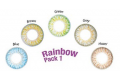ColourVUE TruBlends One-Day Rainbow Pack 1 (10 db), napi kiemelő színes kontaktlencse